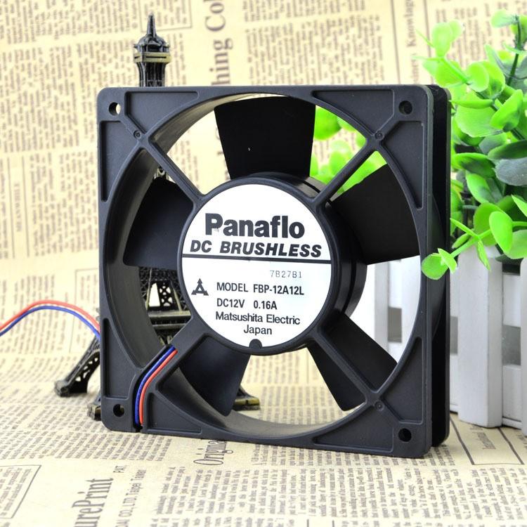 Panaflo FBP-12A12L DC12V 0.16A 12CM cooling fan
