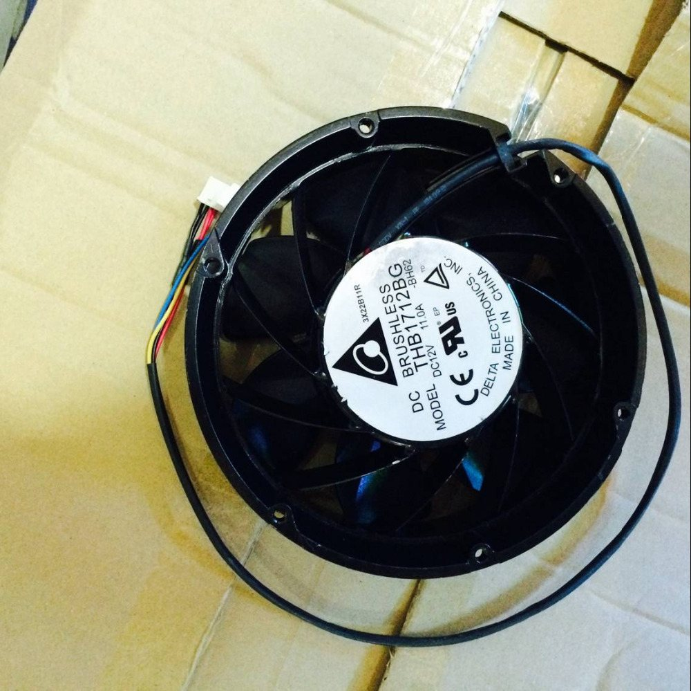 Delta THB1712BG 12V 11A 172*172*51mm Extra Large Current Full Circle Fan
