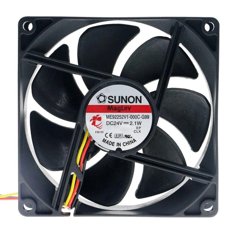 SUNON ME92252V1-000C-G99 DC24V 2.1W cooling fan