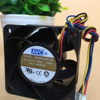 AVC 2B06038B12S 12V 1.80A 4-wire double ball fan