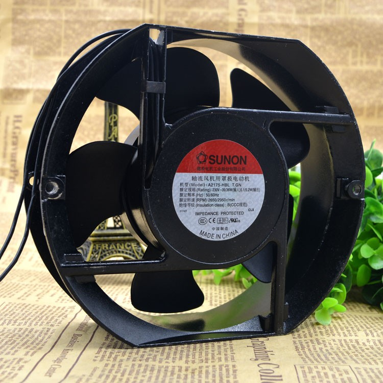 SUNON  A2175-HBL 220V 0.11A axial industiral cooling fan