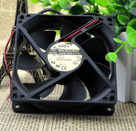 ADDA AD0912MB-A70GL 92*92*25 12V 0.17A mute chassis fan