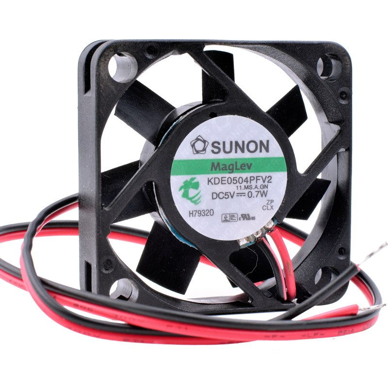 SUNON KDE0405PFV2 DC 5V 0.7W bearing router TV box cooling fan
