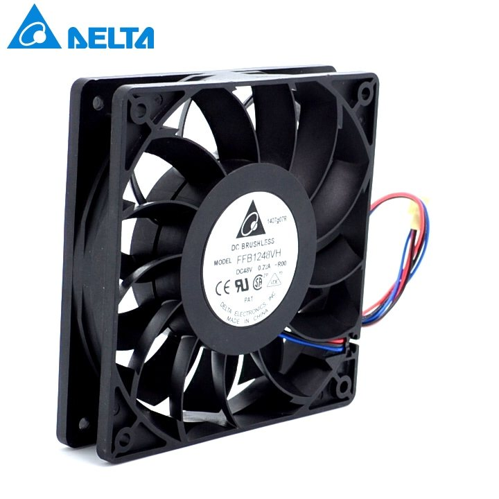 Delta FFB1248VH-ROO 48V 0.22A dual ball bearing cooling fan