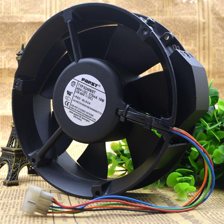 PAPST 6248N/8T 17050 48V 17CM 18W Cooling Fan
