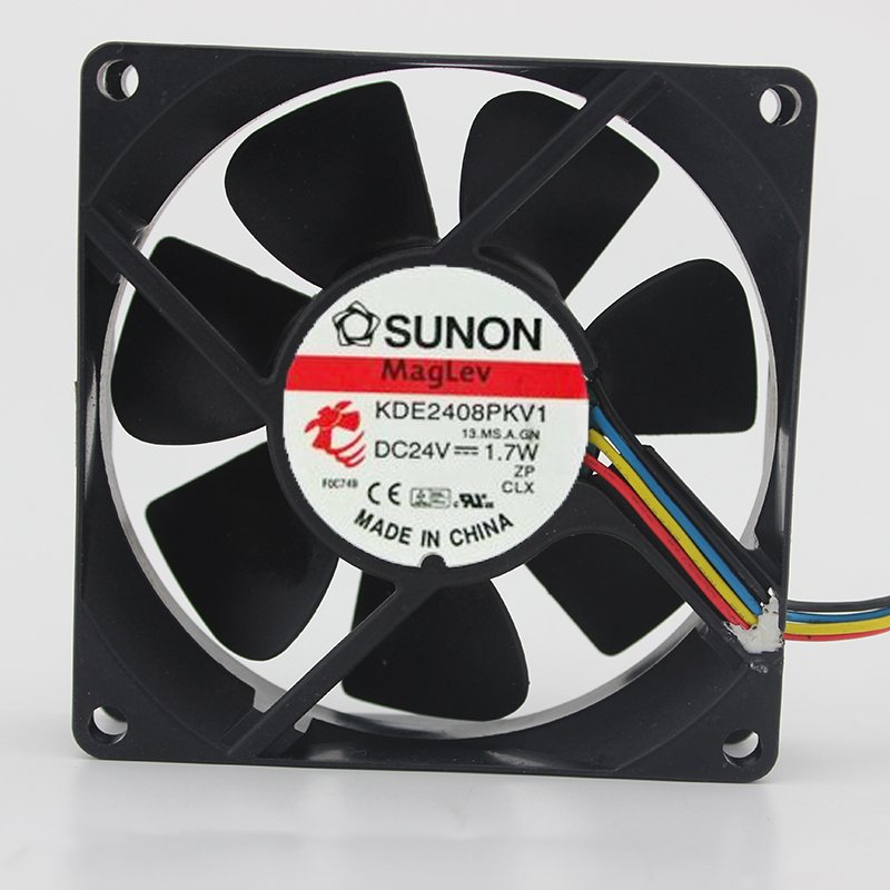 SUNON KDE2408PKV1 24V 1.7W 8cm inverter cooling fan