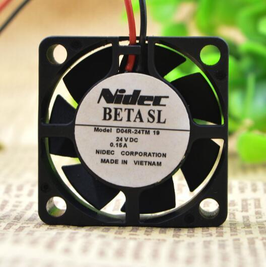 NIDEC D04R-24TM DC12V 0.15A  Inverter Cooling Fan