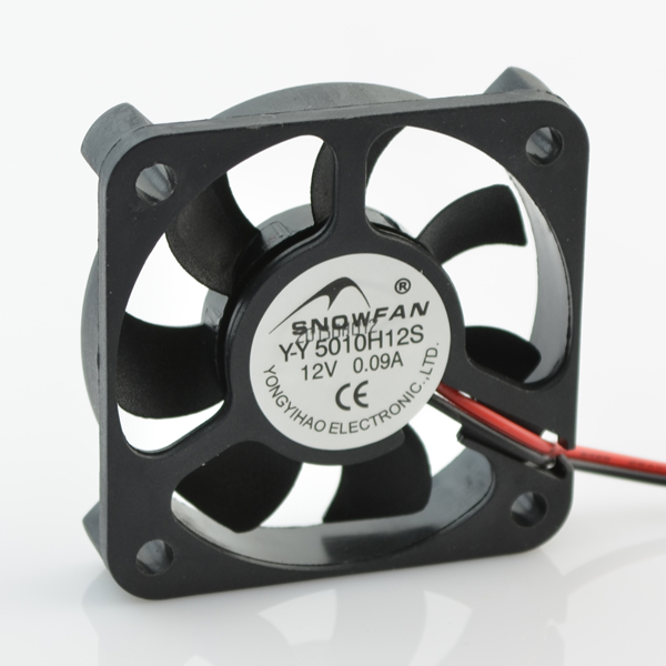 SNOWFAN YY5010H12S  5CM 12V charger cooling fan