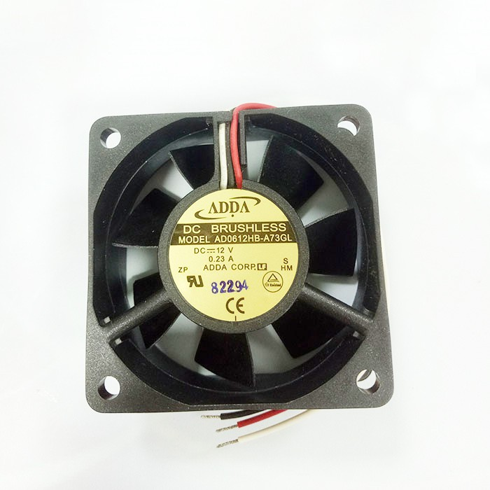 ADDA AD0612HB-A73GL DC12V 0.23A 6CM 3-wire cooling fan