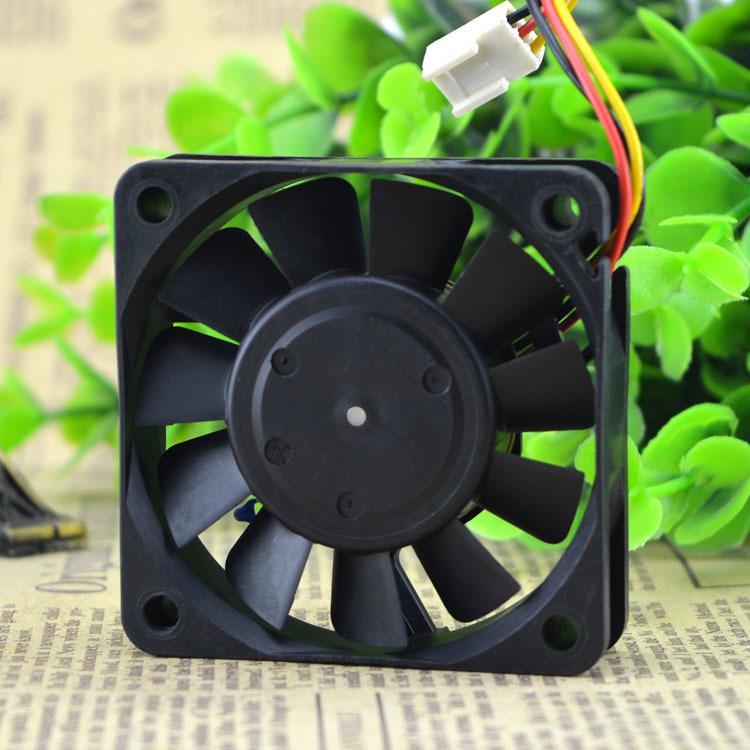 NIDEC TA2250C R34487-57 DC5V 0.31A 6cm 3 wire cooling fan