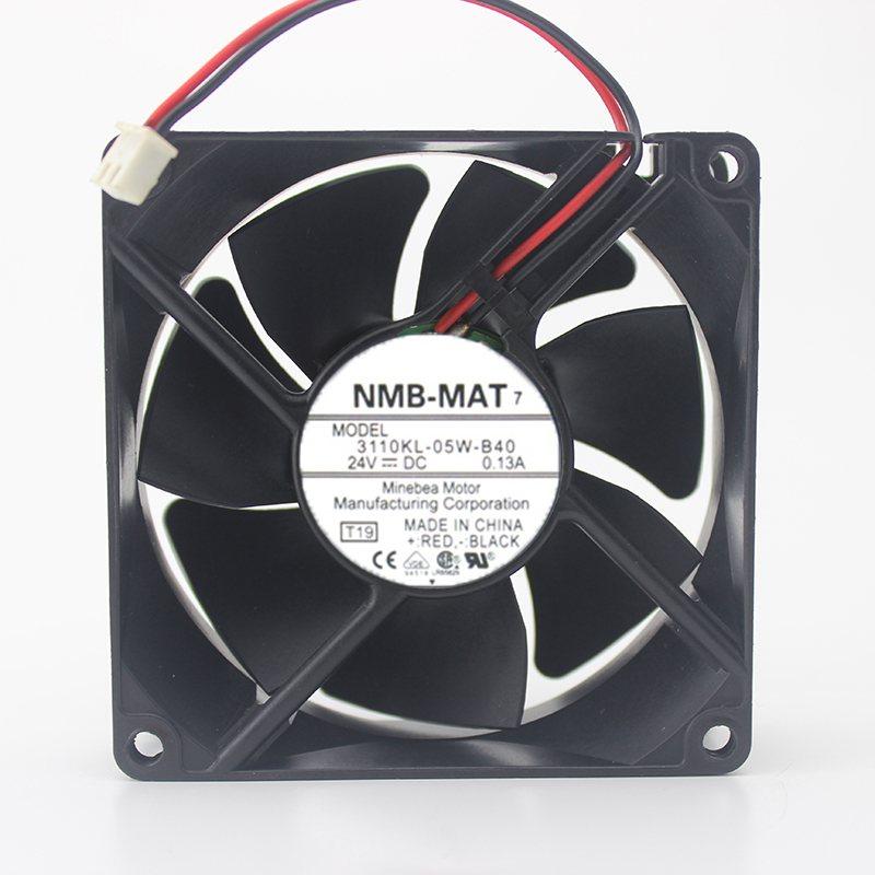 NMB 3110KL-05W-B40  8CM 24V 0.13A inverter cooling fan
