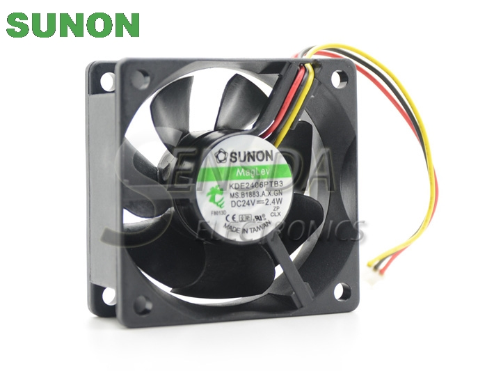 SUNON KDE2406PTB3 6CM 24V 2.4W axial cooling cooler