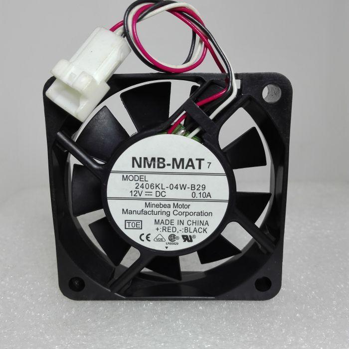 NMB-MAT 2406KL-04W-B29 6CM 12V 0.1A cooling fan