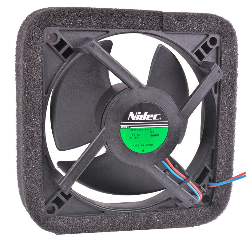 Nidec U92C12MS1A3-51 9cm 92mm 12V 0.16A  refrigerator cooling fan