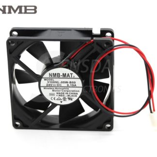NMB 3108NL-05W-B50 DC24V 0.22A 3Wire axial Cooling Fan