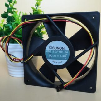 SUNON KDE1212PTB1-6A DC12V 5.4W  3-wire Dual Ball Cooling Cooling Fan