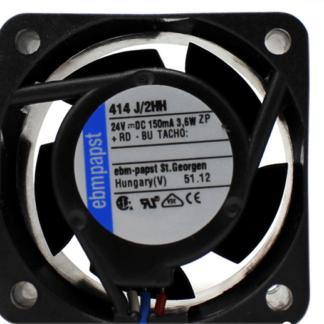 ebmpapst 414J /2HH DC24V 2.3W  3-wire cooling fan