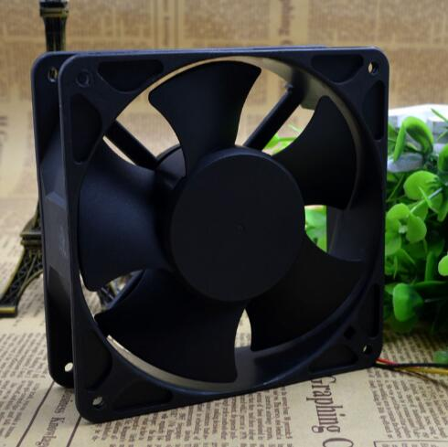 SUNON KDE1212PMBX-6A 12V 7.6W three line axial flow cabinet cooling fan