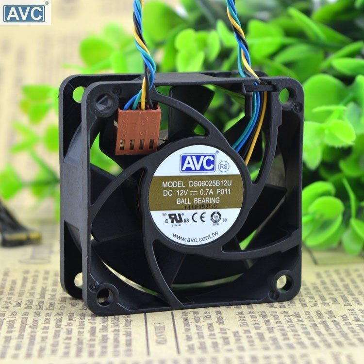 AVC DS06025B12U 60mm DC12V 0.70A Pwm server inverter cooling fan