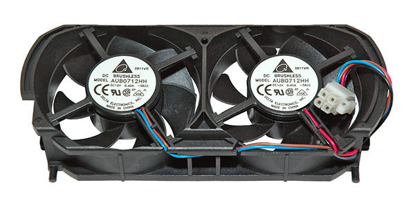 Delta AUB0712HH-5B22 4pin Dual Cooling Fan for Microsoft XBOX 360 Console