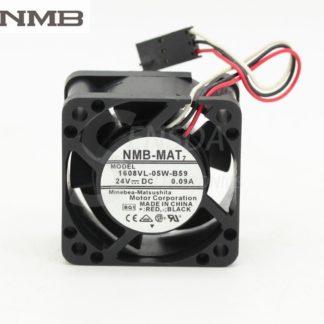 NMB 1608VL-05W-B59  40*40*20mm DC24V 0.09A inverter cooling fan