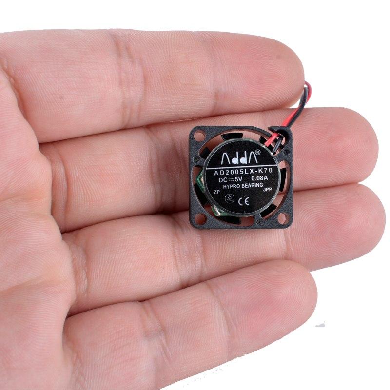 ADDA AD05LX-K70 DC5V 0.08A Miniature ultra-thin cooling fan