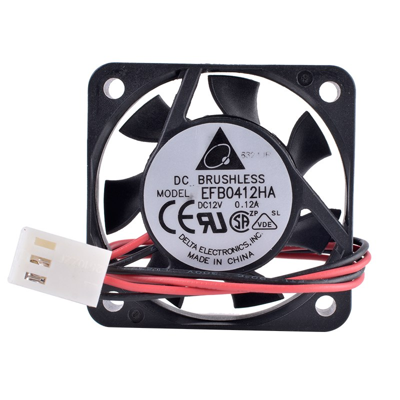 Delta EFB0412HA DC12V 0.12A Double ball bearing cooling fan