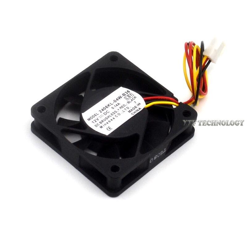 NMB 2406KL-04W-B36  12V 0.14A dual ball bearing cooling fan
