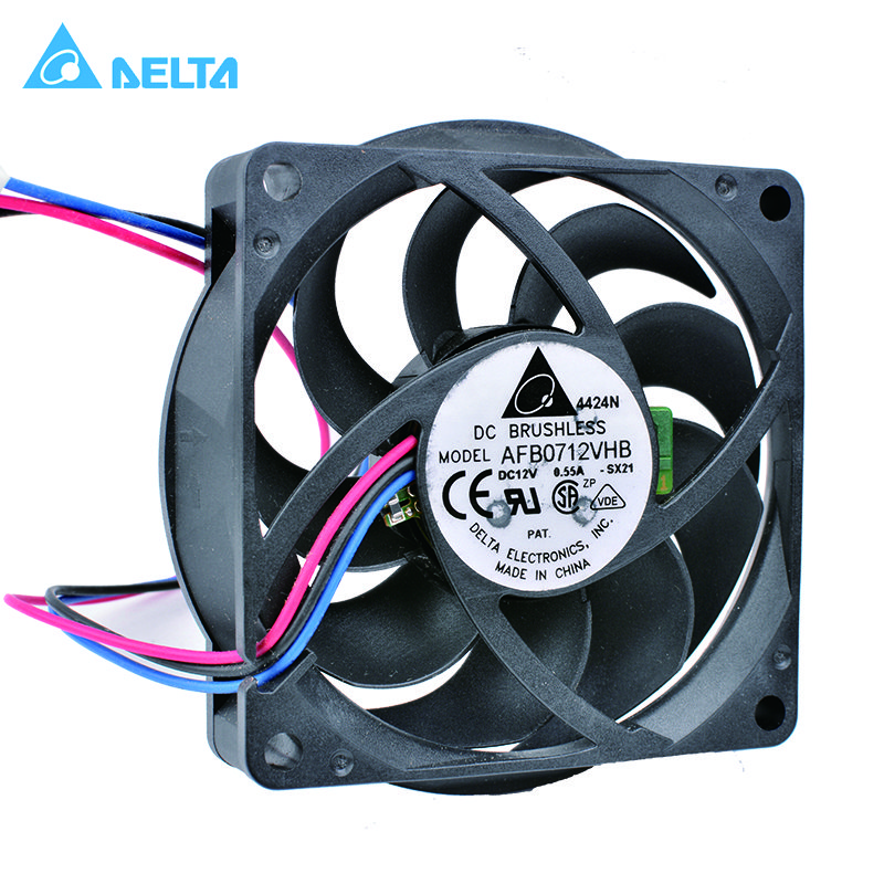 Delta AFB0712VHB 12V 0.55A CPU cooling fan