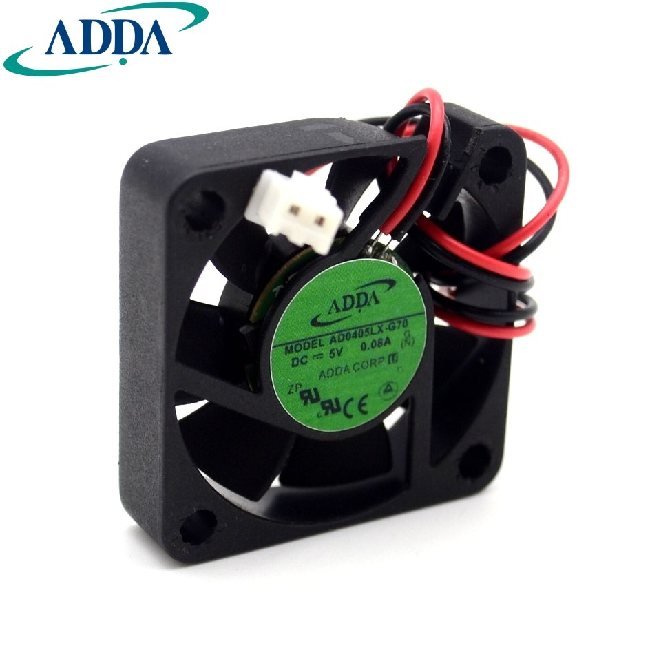 ADDA AD0405LX-G70 40mm DC5V 0.08A axial cooling fan