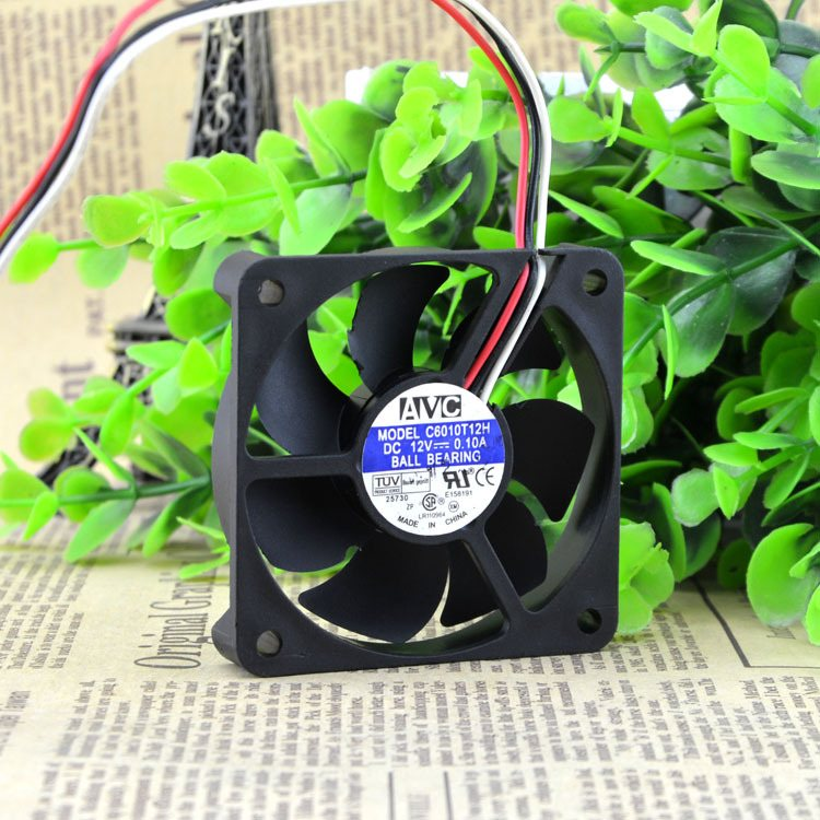 AVC C6010T12H 12V 0.1A 6cm CPU cooling fan