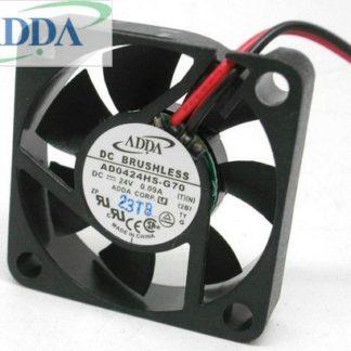 ADDA AD0424HS-G70 40mm  DC24V 5700RPM ball bearing axial cooling fan