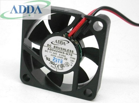 ADDA AD0424HS-G70 40mm  DC24V 5700RPM ball bearing axial cooling fan