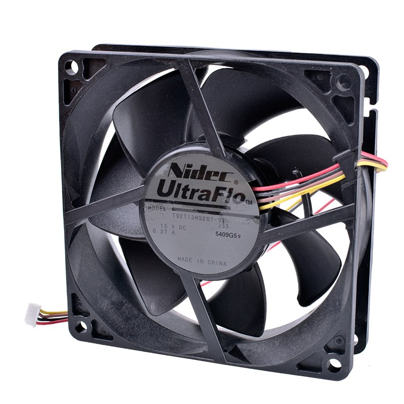 Nidec T92T13MS2B7-57 13V DC 0.27A Projector cooling fan