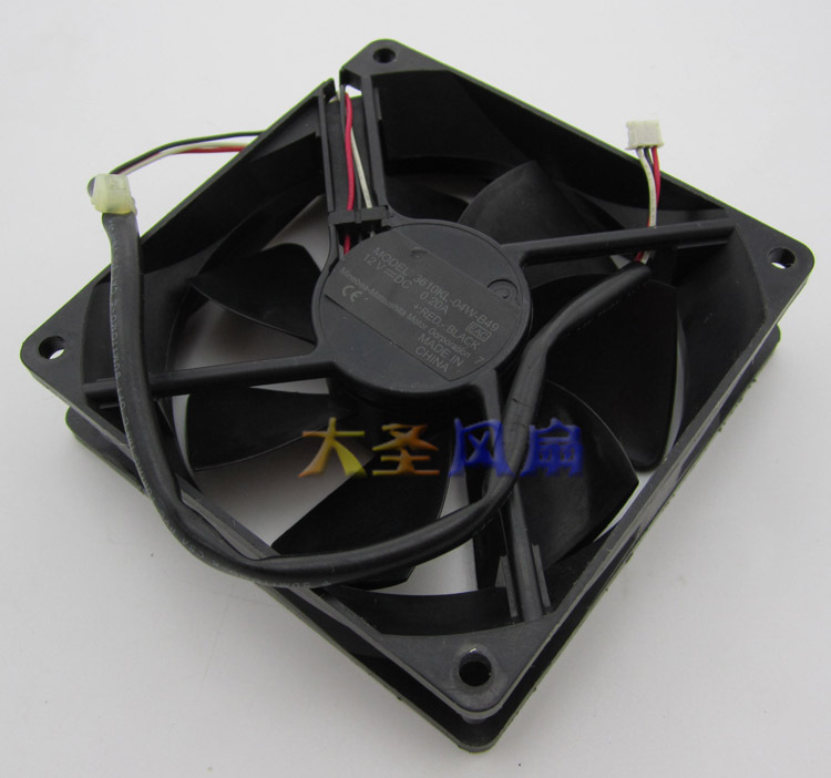 NMB 3610KL-04W-B49  12V 0.2Aprojector cooling fan