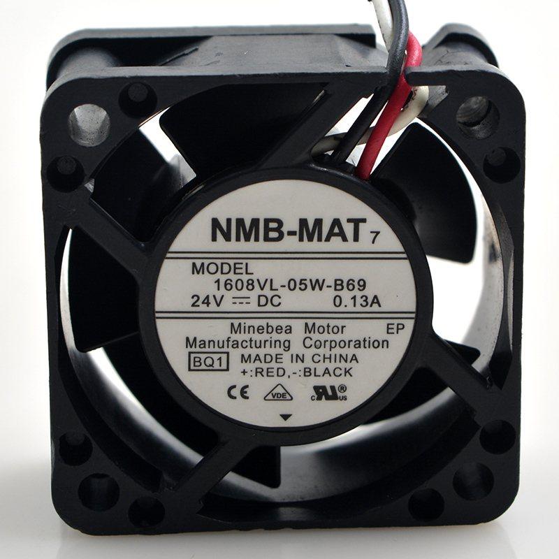 NMB 1608VL-05W-B69 24V 4cm 0.13A  cooling fan