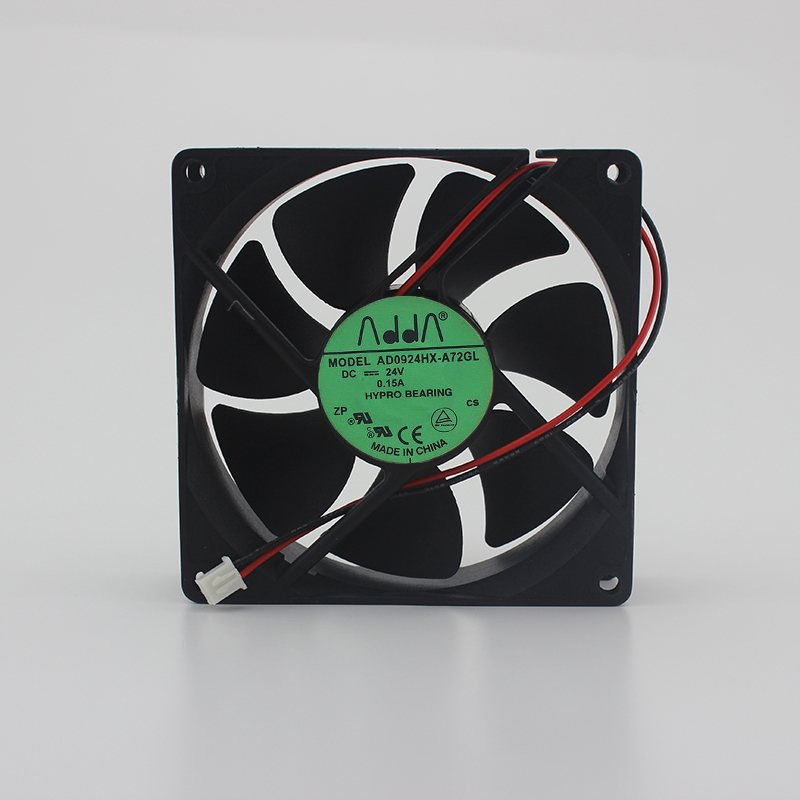 ADDA AD0924HX-A72GL 24V 0.15A 9CM 3-wire inverter cooling fan