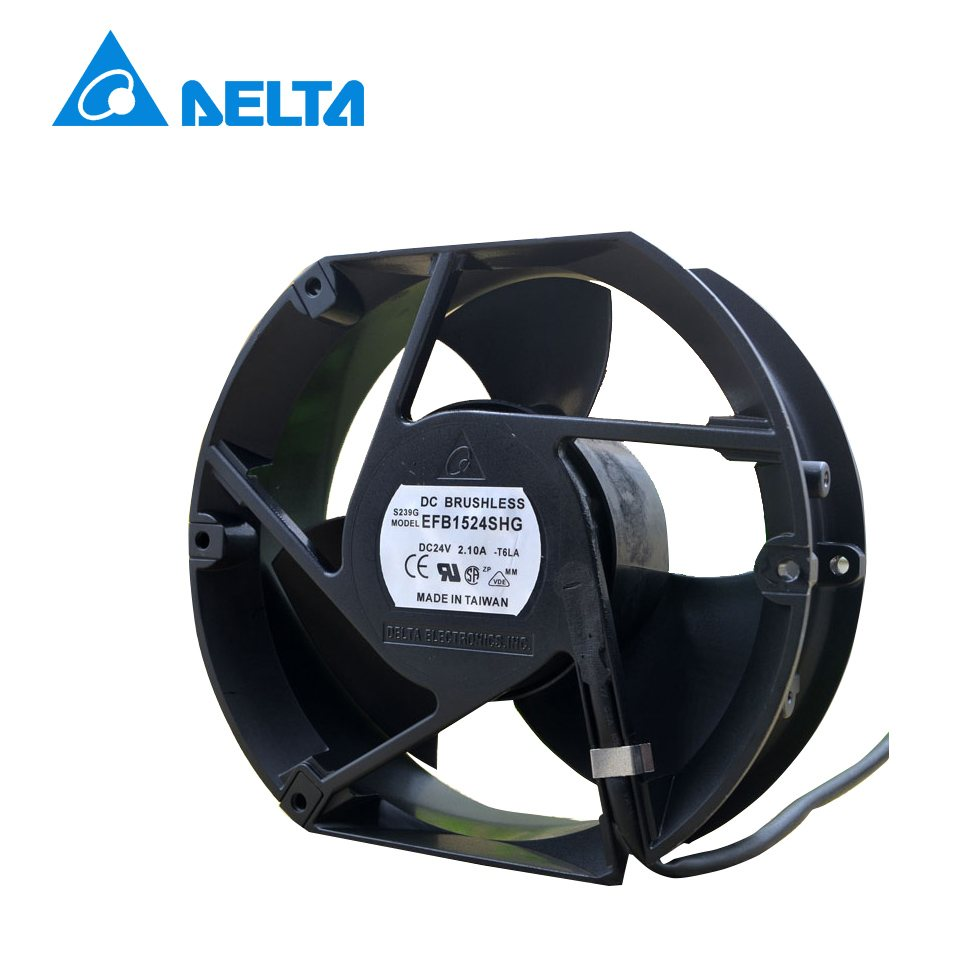 Delta EFB1524SHG 17CM  24V 2.10A 3-wire cooling fan