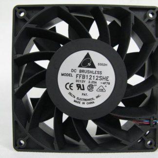 Delta FFB1212SHE 12cm 120*120*38MM DC 12V 2.25A Cooling Computer Case Server Fan