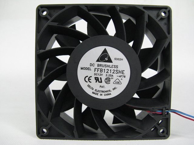 Delta FFB1212SHE 12cm 120*120*38MM DC 12V 2.25A Cooling Computer Case Server Fan