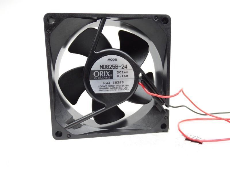 ORIX MD825B-24 DC24V 0.14A  8CM Inverter Radiator Fan