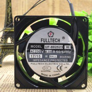 FULLTECH UF-802523H AC230V 0.08A 50/60Hz 17/15  cooling fan