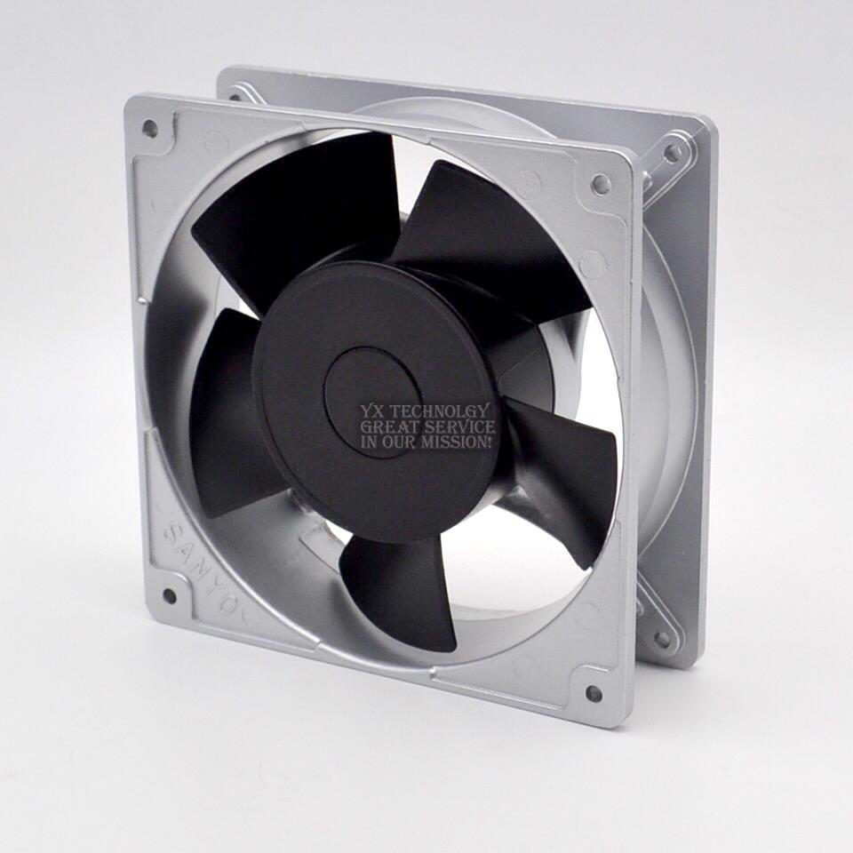 SANYO 109S075UL 18W  100V 115V  0.24A low noice fan