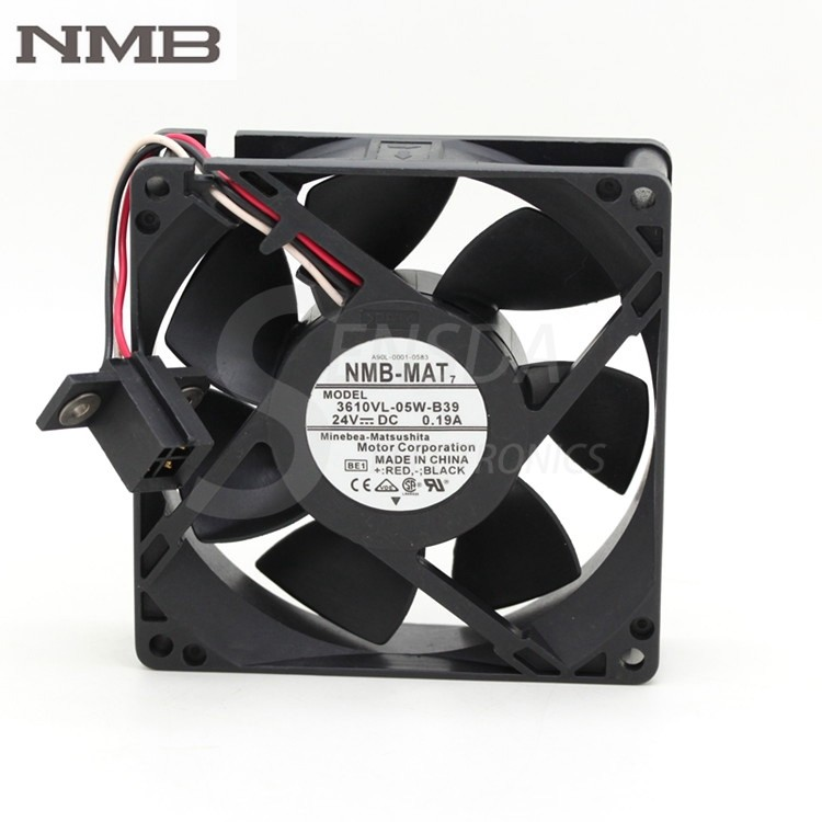 NMB 3610VL-05W-B39 24V 0.19A  waterproof  cooling fan