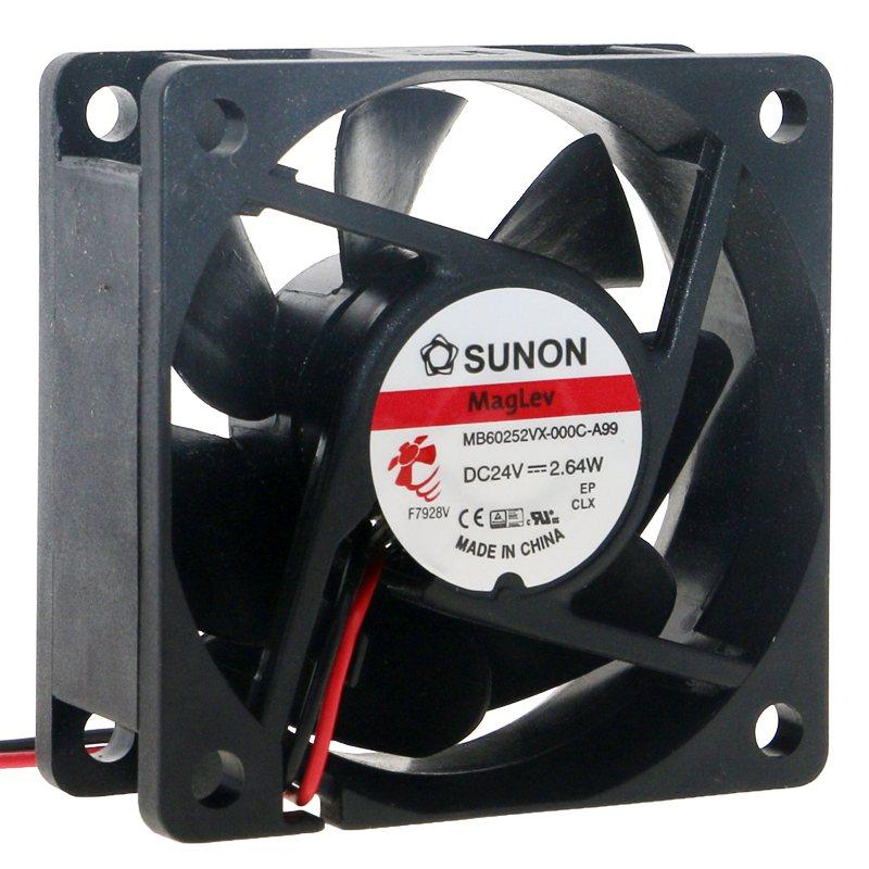 SUNON MB60252VX-000C-A99 60mm fan DC 24V 2.64W High-end inverter cooling fan