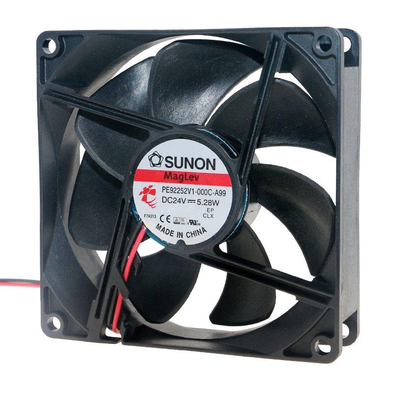 SUNON PE92252V1-000C-A99 DC 24V 5.28W inverter cooling fan