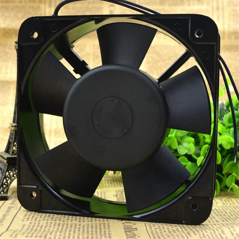 QA15050HBL2 220v 36W 15cm Small Axial Fan Cooling Fan Blower 2-wire Rack Chassis Axial Fan