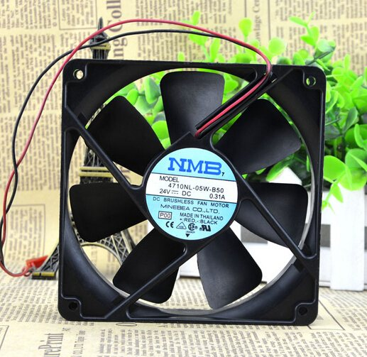 NMB 4710NL-05W-B50 12CM 24V 0.31A inverter cooling fan