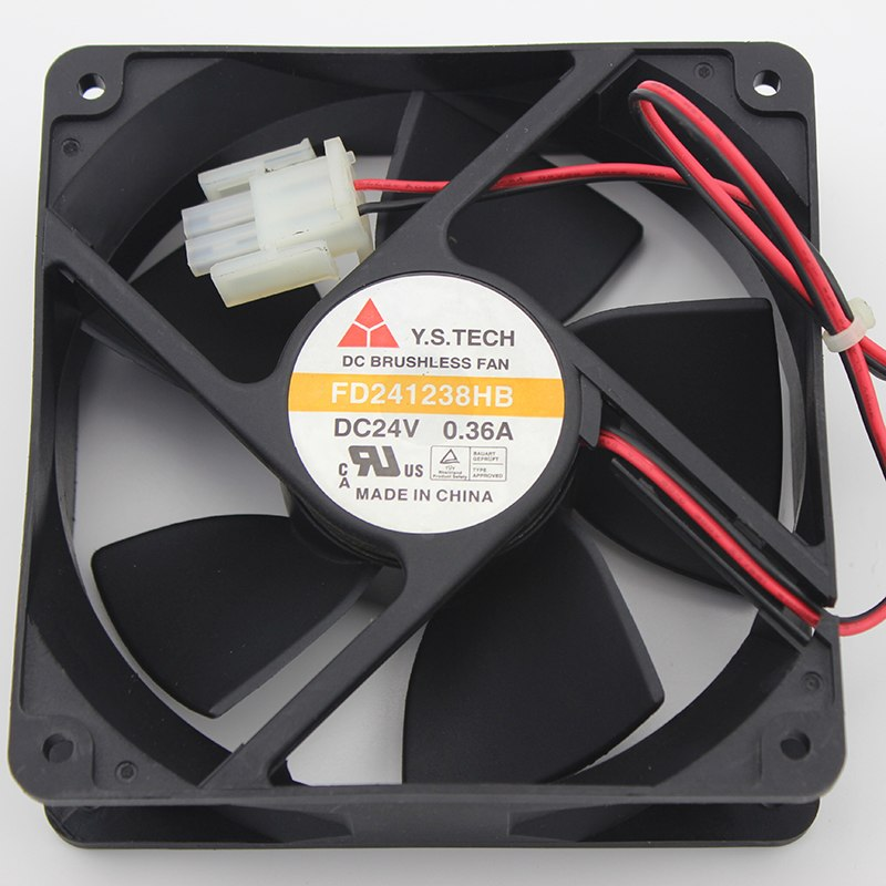 Y.S.TECH FD241238HB 138 24V 0.36A inverter cooling fan