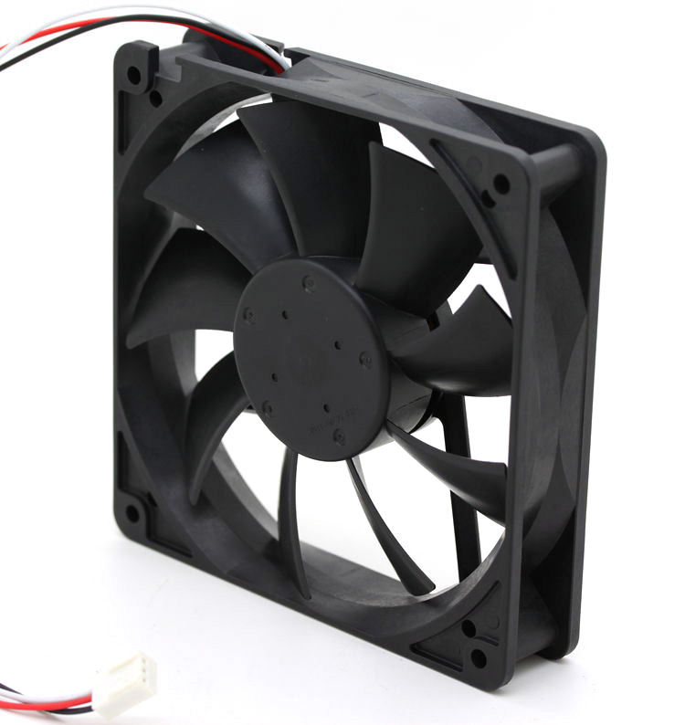 NMB 4710KL-04W-B59 12V 0.72A  120*120*25MM 3 line to stop alarm fan